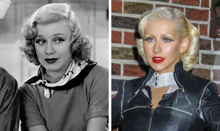 Ginger Rogers and Christina Aguilera devoted their lives to singing, dancing, and filming.