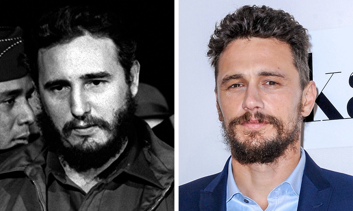 Fidel Castro and James Franco show that it is time to start believing in reincarnation.