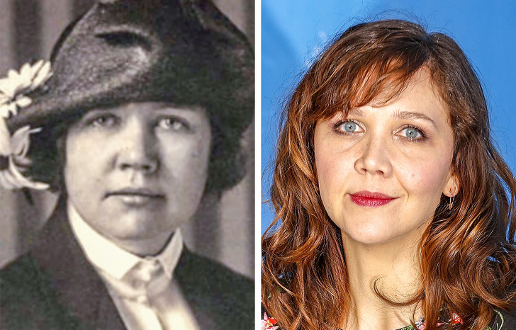 4. Rose Lane and Maggie Gyllenhaal look so much alike.