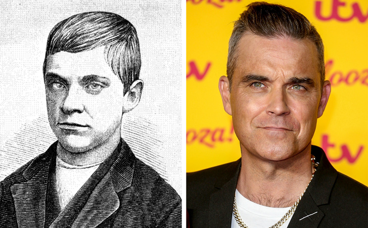 Jesse Pomeroy and Robbie Williams