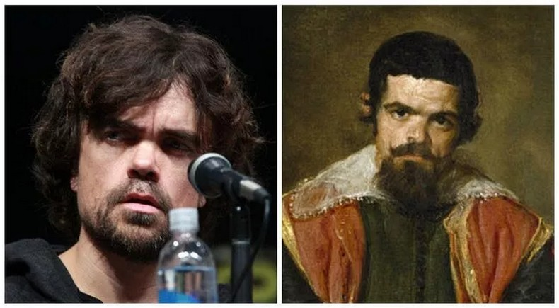 Peter Dinklage And Sebastian de Morra