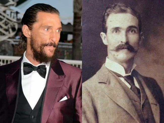 Matthew McConaughey And His Old-Timey Twin