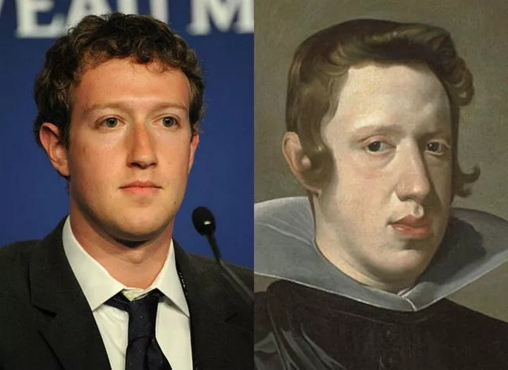 Zuckerberg And Philip IV - Just Two Kings With The Same Face