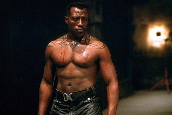 Wesley Snipes Vs the rest of Blade Trinity
