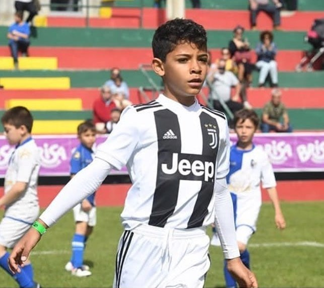 Cristiano Ronaldo's son scores 12 goals in 2 matches with U9 Juventus