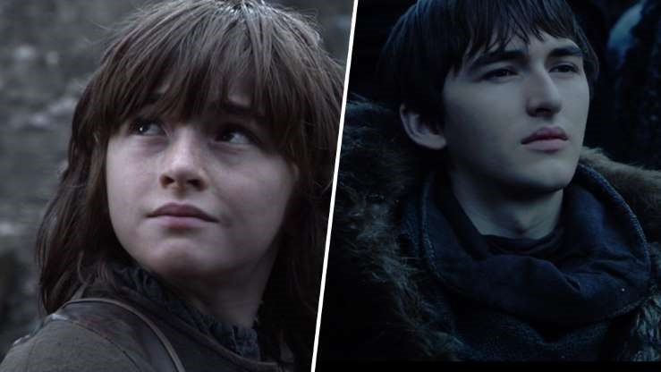 Game of Thrones: the characters in 2011... and today