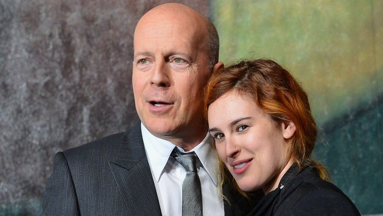 Bruce and Rummer Willis