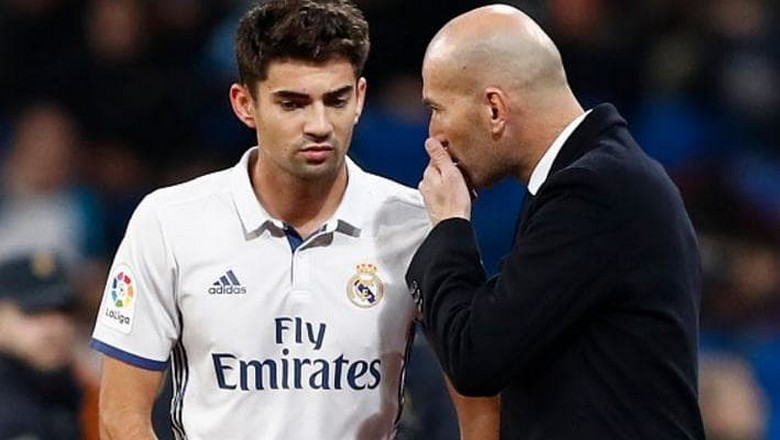 Zinedine and Enzo Zidane